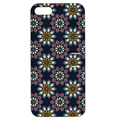 Floral Flower Star Blue Apple Iphone 5 Hardshell Case With Stand by Mariart