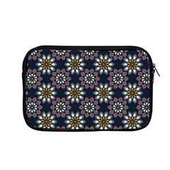 Floral Flower Star Blue Apple Macbook Pro 13  Zipper Case by Mariart