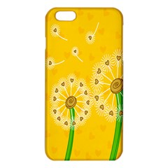 Leaf Flower Floral Sakura Love Heart Yellow Orange White Green Iphone 6 Plus/6s Plus Tpu Case by Mariart