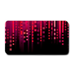 Line Vertical Plaid Light Black Red Purple Pink Sexy Medium Bar Mats by Mariart