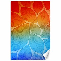 Leaf Color Sam Rainbow Canvas 24  X 36