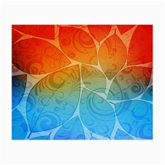 Leaf Color Sam Rainbow Small Glasses Cloth (2 Side) by Mariart