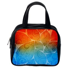 Leaf Color Sam Rainbow Classic Handbags (one Side) by Mariart