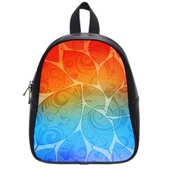 Leaf Color Sam Rainbow School Bags (small)  by Mariart
