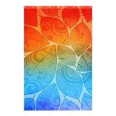 Leaf Color Sam Rainbow Shower Curtain 48  X 72  (small)  by Mariart