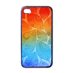 Leaf Color Sam Rainbow Apple Iphone 4 Case (black)