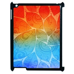 Leaf Color Sam Rainbow Apple Ipad 2 Case (black) by Mariart