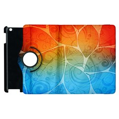 Leaf Color Sam Rainbow Apple Ipad 2 Flip 360 Case by Mariart