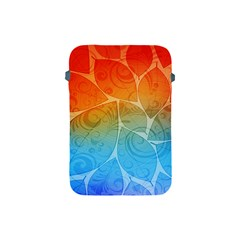 Leaf Color Sam Rainbow Apple Ipad Mini Protective Soft Cases by Mariart