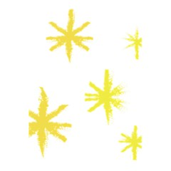 Line Painting Yellow Star 5 5  X 8 5  Notebooks by Mariart