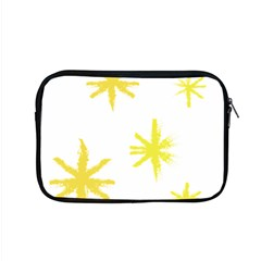 Line Painting Yellow Star Apple Macbook Pro 15  Zipper Case by Mariart