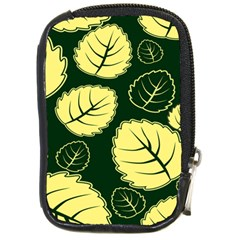 Leaf Green Yellow Compact Camera Cases by Mariart