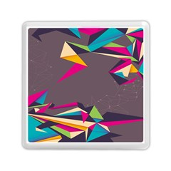 Origami Bird Japans Papper Memory Card Reader (square)  by Mariart