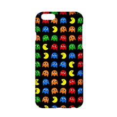 Pacman Seamless Generated Monster Eat Hungry Eye Mask Face Rainbow Color Apple Iphone 6/6s Hardshell Case by Mariart