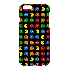 Pacman Seamless Generated Monster Eat Hungry Eye Mask Face Rainbow Color Apple Iphone 6 Plus/6s Plus Hardshell Case by Mariart