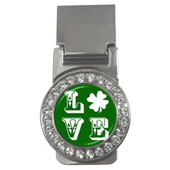 Parks And Tally Love Printable Green Money Clips (cz)