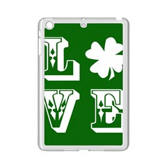 Parks And Tally Love Printable Green Ipad Mini 2 Enamel Coated Cases