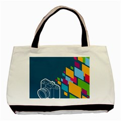 Photography Potraite Panorama Basic Tote Bag by Mariart