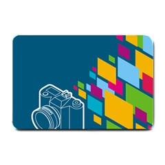 Photography Potraite Panorama Small Doormat  by Mariart