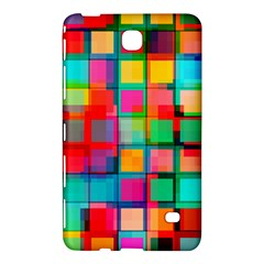 Plaid Line Color Rainbow Red Orange Blue Chevron Samsung Galaxy Tab 4 (8 ) Hardshell Case  by Mariart