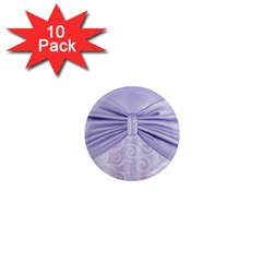 Ribbon Purple Sexy 1  Mini Magnet (10 Pack)