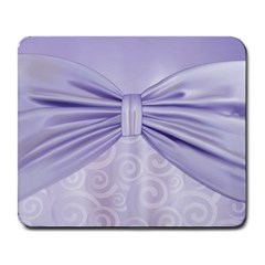 Ribbon Purple Sexy Large Mousepads by Mariart