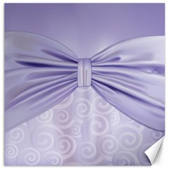 Ribbon Purple Sexy Canvas 20  X 20   by Mariart