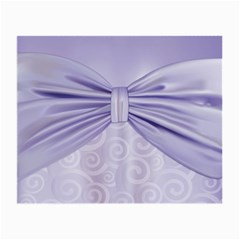 Ribbon Purple Sexy Small Glasses Cloth (2 Side) by Mariart