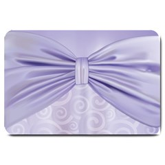 Ribbon Purple Sexy Large Doormat  by Mariart
