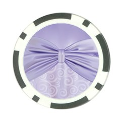 Ribbon Purple Sexy Poker Chip Card Guard (10 Pack) by Mariart