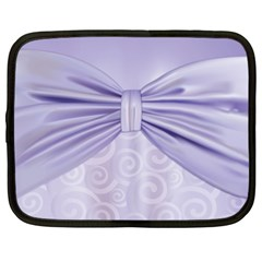 Ribbon Purple Sexy Netbook Case (xl)  by Mariart
