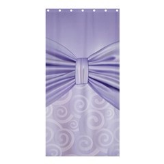 Ribbon Purple Sexy Shower Curtain 36  X 72  (stall)  by Mariart