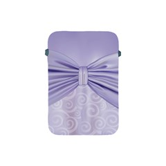 Ribbon Purple Sexy Apple Ipad Mini Protective Soft Cases by Mariart