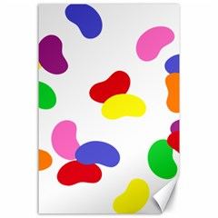 Seed Beans Color Rainbow Canvas 24  X 36  by Mariart