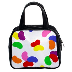 Seed Beans Color Rainbow Classic Handbags (2 Sides) by Mariart