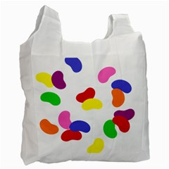 Seed Beans Color Rainbow Recycle Bag (one Side) by Mariart