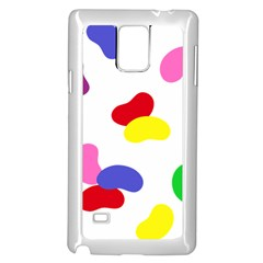 Seed Beans Color Rainbow Samsung Galaxy Note 4 Case (white)