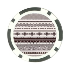 Plaid Circle Polka Dot Star Flower Floral Wave Chevron Triangle Poker Chip Card Guard by Mariart