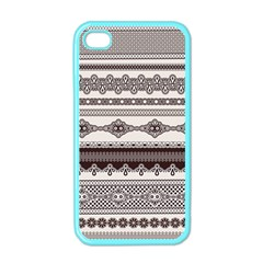 Plaid Circle Polka Dot Star Flower Floral Wave Chevron Triangle Apple Iphone 4 Case (color)