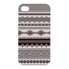 Plaid Circle Polka Dot Star Flower Floral Wave Chevron Triangle Apple Iphone 4/4s Premium Hardshell Case