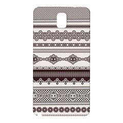 Plaid Circle Polka Dot Star Flower Floral Wave Chevron Triangle Samsung Galaxy Note 3 N9005 Hardshell Back Case by Mariart