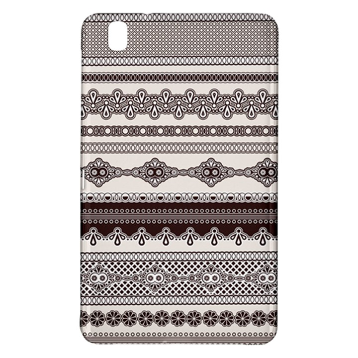 Plaid Circle Polka Dot Star Flower Floral Wave Chevron Triangle Samsung Galaxy Tab Pro 8.4 Hardshell Case