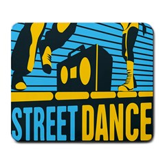 Street Dance R&b Music Large Mousepads by Mariart