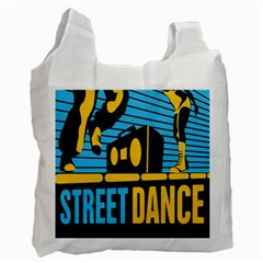 Street Dance R&b Music Recycle Bag (one Side) by Mariart