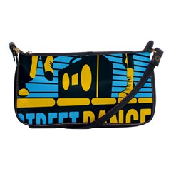 Street Dance R&b Music Shoulder Clutch Bags by Mariart