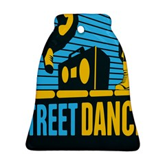 Street Dance R&b Music Bell Ornament (two Sides)
