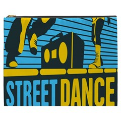 Street Dance R&b Music Cosmetic Bag (xxxl)  by Mariart
