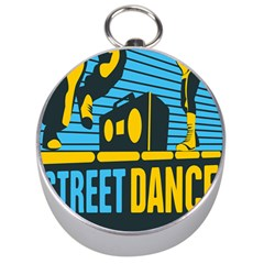 Street Dance R&b Music Silver Compasses by Mariart