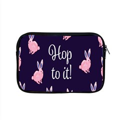 Rabbit Bunny Pink Purple Easter Animals Apple Macbook Pro 15  Zipper Case by Mariart