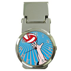 Volly Ball Sport Game Player Money Clip Watches by Mariart